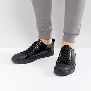 ASOS Shoes - Faux leather sneakers